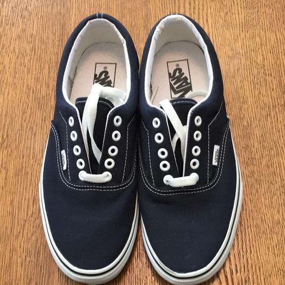 9f16971122 Vans Other - Vans classic Sz 8.5 men s 10 women s navy blue